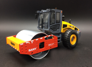 SANY 1 35 Original manufacturer,SANY YZ18C Single-drum roller Gift collection
