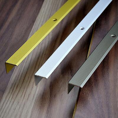 Anti-Dérapant bandes pour escaliers argent 100 cm alu escaliers profil