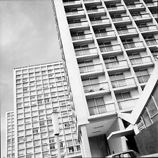 MARSEILLE c. 1950 - Immeubles Bouches du Rhône - Négatif 6 x 6 - N6 PROV52