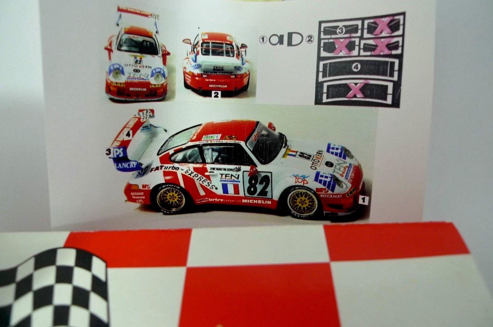 KIT STARTER 1 43 - PORSCHE 911 GT2 EVOLUTION N°82 LE MANS 1996