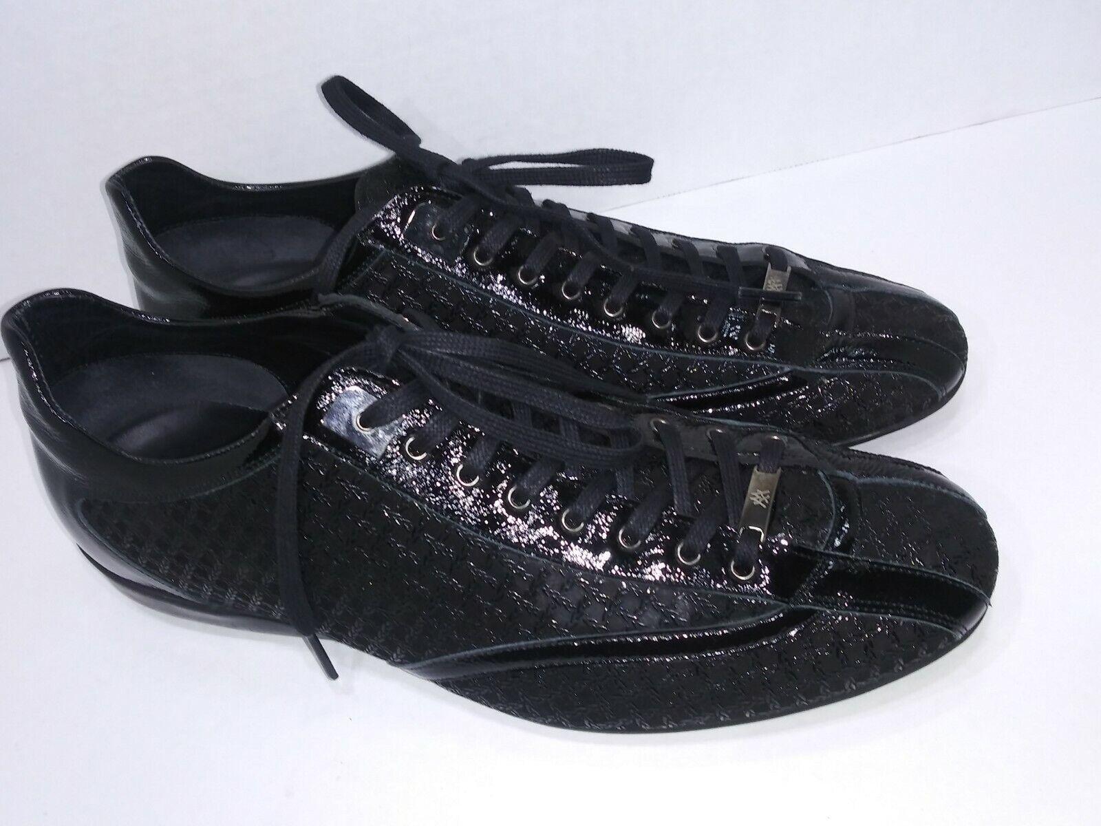 Mezlan Archer Negra Moda Tenis Cordones Zapatos Para Hombre M España Excelente
