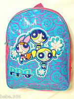 Powerpuff Girls Vinyl Backpack 15 X 12 One Main Compartment