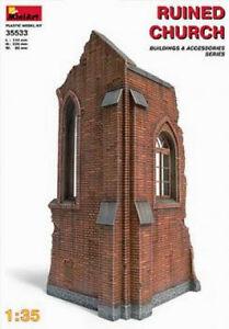 MIN35533 - Miniart 1:35 - église Ruine