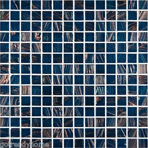 Sample-Blue-Iridescent-Glass-Mosaic-Tile-Kitchen-Backsplash-Bath-Wall-Sink-Spa