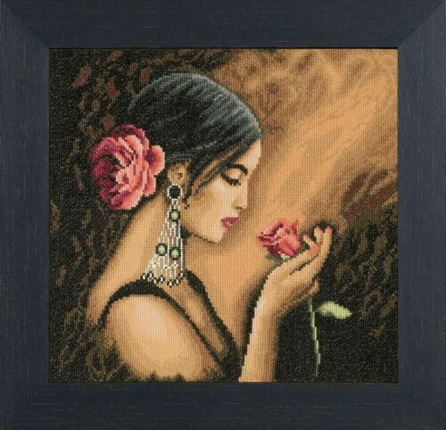 30 x 30 cm Spanish Beauty Lanarte PN-0008339 Counted Cross Stitch Kit