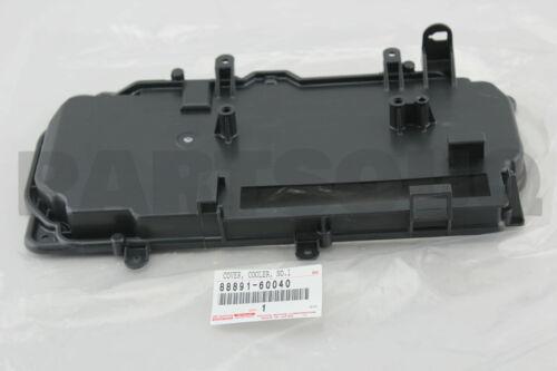 NO.1 88891-60040 8889160040 Genuine Toyota COVER COOLER