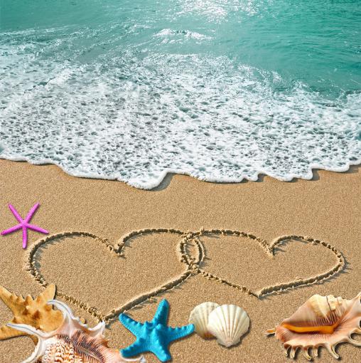3D 3D 3D Romantic Beach View 8 Floor WallPaper Murals Wall Print Decal AJ WALLPAPER US 8866f8
