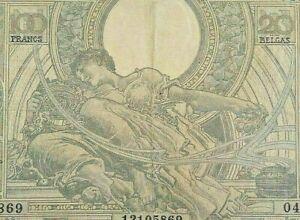 100-Francs-20-Belgas-1933-lt-lt-gt-gt-1943-KM-107-Frank-Belgie-Belgique-F3