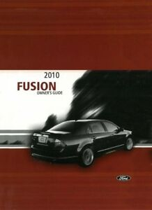 2010 ford fusion owners manual user guide reference operator book ebay rh ebay com 2010 ford fusion service manual 2010 ford fusion service manual pdf