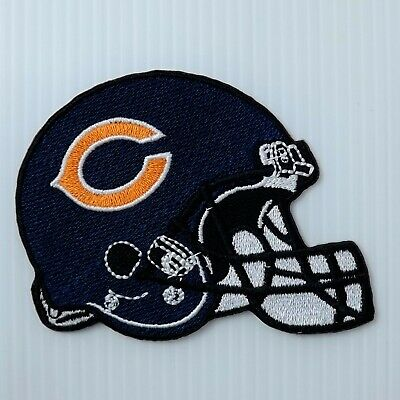 "New Chicago Bears NFL football  3.5 /"" x 3.25/""  sew or iron patch"