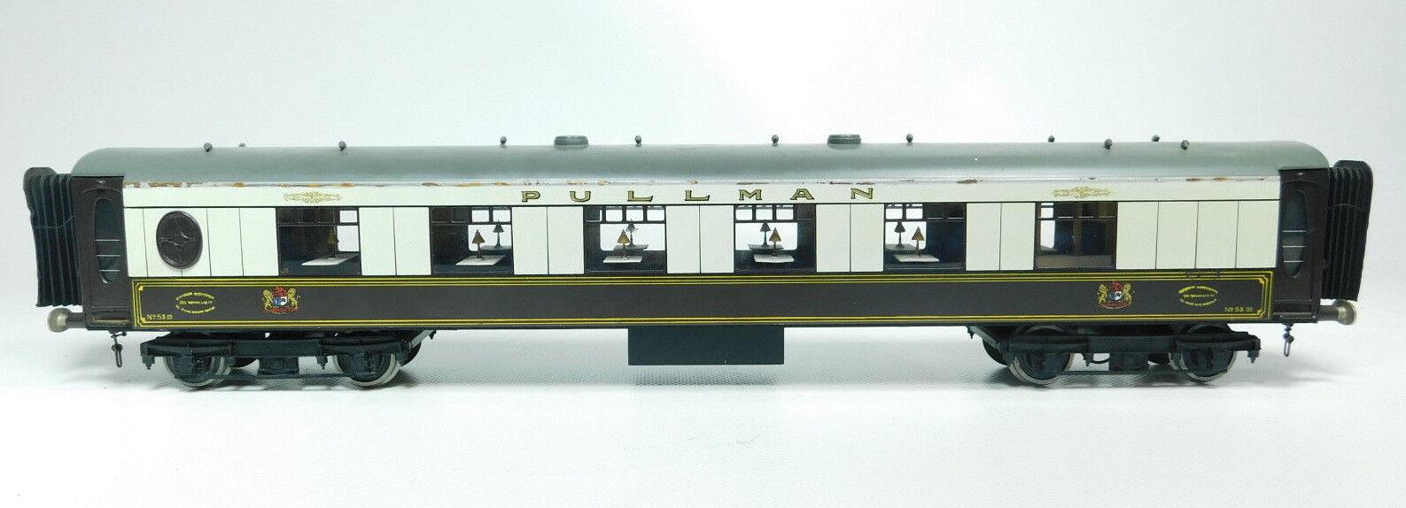 Bi666-2  FULGUREX traccia lamiera 0 dc - vetture passeggeri pullman no 53 buffer a molla