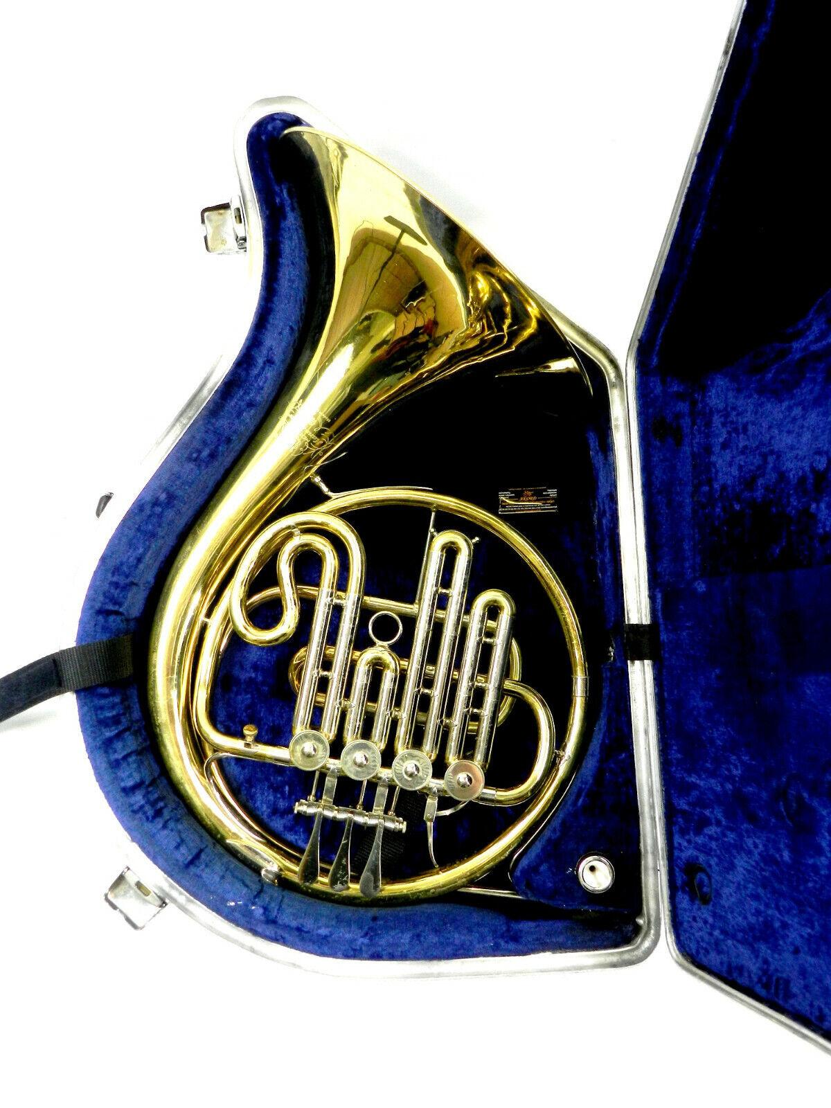 Waldhorn Waldhörner French horn B Hans Hoyer 704 Technical Review (DR19-201)