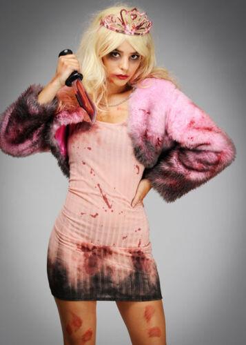 Womens Halloween Zombie Barbie Style Dead Doll Costume