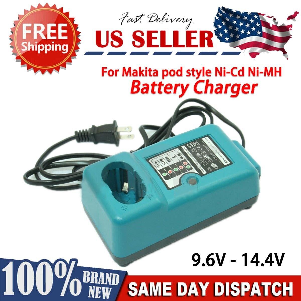 100% NEW! Battery Charger For Makita Cordless Drill DC1414 9.6V/12V /14.4V