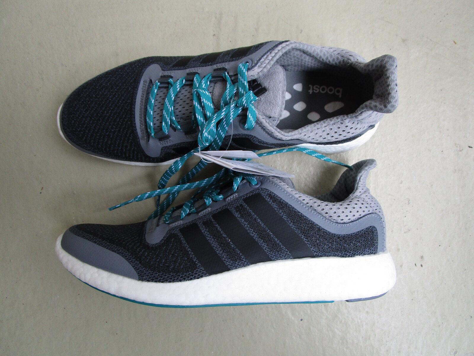 Adidas Pure Boost 1/3 2.0 45 1/3 Boost Originals grey/black/Green 59bbb1