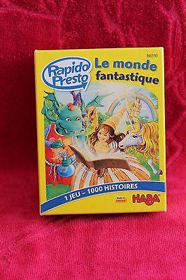 Haba - Rapido Presto - Le Monde Fantastique - Complet
