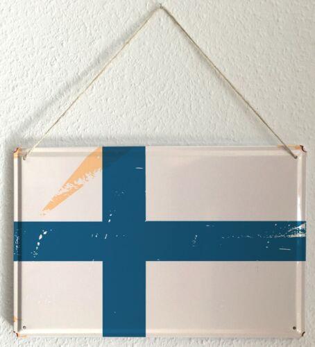 Plaque ?maill?e Agence Voyage Vacances Signe  Finlande