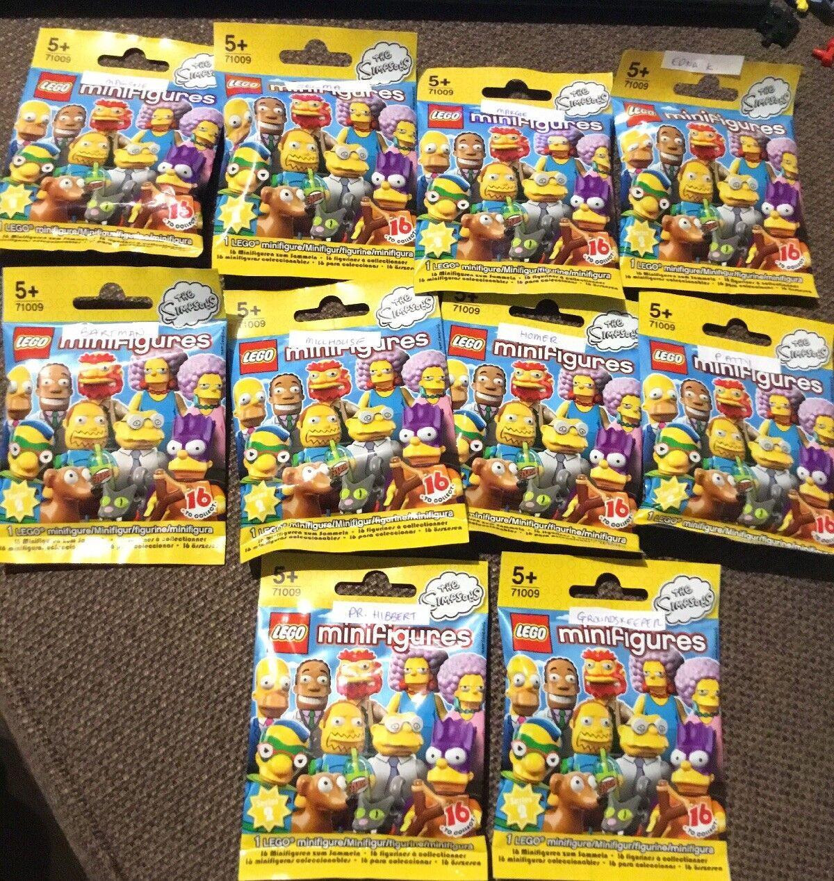 LEGO SIMPSONS Series 2 MINIFIGURES BRAND NEW X10
