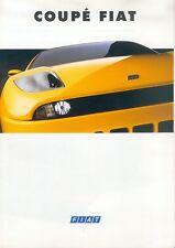 Fiat Coupé Prospekt 11/94 brochure 1994 Auto PKWs Broschüre Italien Autoprospekt