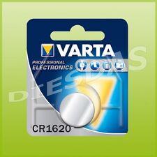 2 Stk. Varta CR1620 Lithium Mangan Knopf Batterie 3 Volt DL1620  LiMn 1er Bliste