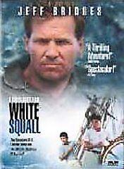 White Squall DVD Jeff Bridges  - $3.50