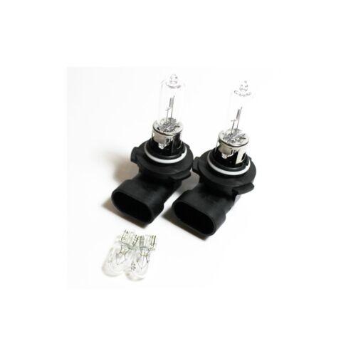 Vauxhall Zafira MK2//B HB3 501 55w Clear Xenon HID Low//Side Headlight Bulbs Set