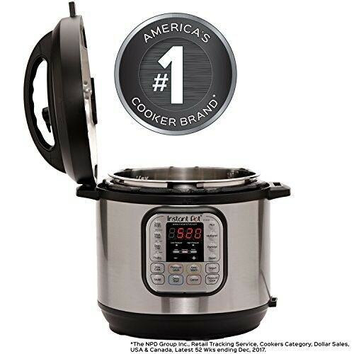 Pressure Cooker - Instant Pot - Instapot - Rice Cooker - Slow Cooker 6 Qt 7 in 1