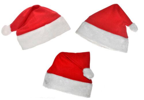 Christmas Decorations Santa Snowflake ADULT Size Hat Bag Sack x 1