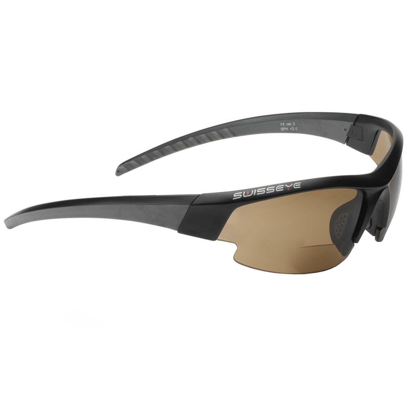SwissEye Bicycle Sport Glasses  GARDOSA EVO Bifocal 2,0 DPT Prescription Sunglasses  discounts and more