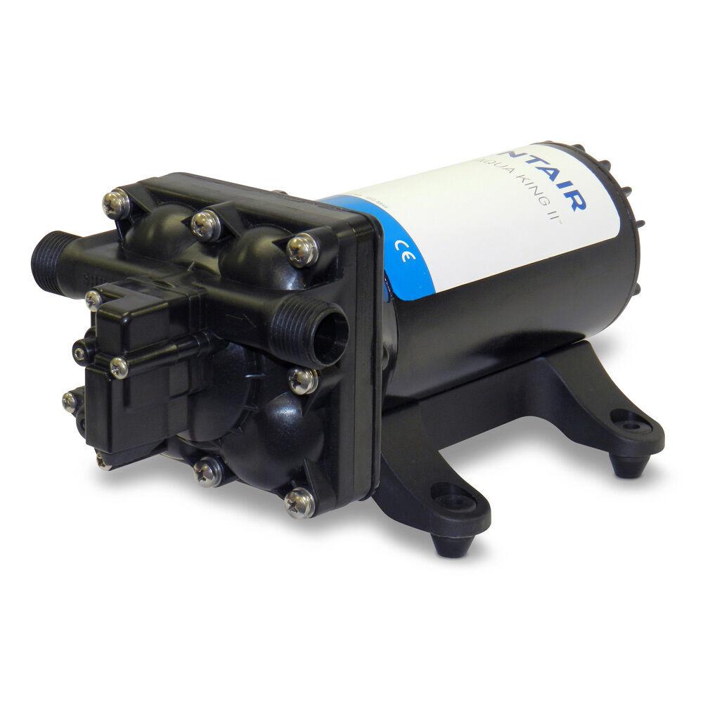 SHURFLO AQUA KING; II Supreme Fresh Water Pump 5.0 - 12 VDC, 5.0 Pump GPM 5b5126