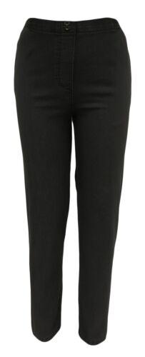 Stretch pantalons avec la bande élastique 95/% coton-Femmes Décontracté-Transition