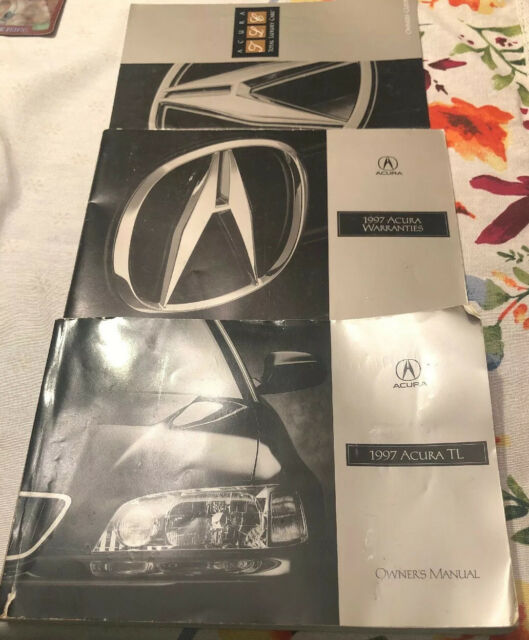 1997 Acura TL Owners Manual Book