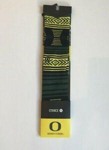 STANCE-University-Oregon-Ducks-Athletic-Socks-034-Mazed-Oregon-2-034-Size-Large-NWT