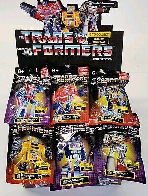 Hasbro Transformers Estatueta Mini Edição Limitada Conjunto Completo 6 prexiolimited