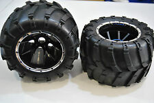 50017 Coppia Ruote Complete 1/5 Himoto Monster Truck/HIMOTO PAIR TIRES 1/5 MONST