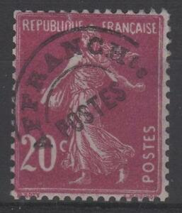 """France Stamp Timbre Preoblitere 55 """" Semeuse 20c Lilas-rose """" Neuf Xx Luxe K417"""
