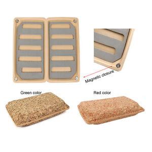 Aventik 2 Pack Float EVA Foam Fly Box Slit Foam Fly Fishing Box 6X3.48X1.2inch