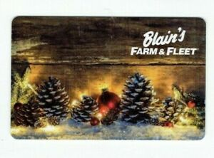 Blain-039-s-Farm-amp-Fleet-Gift-Card-Christmas-Pine-Cones-No-Value-I-Combine