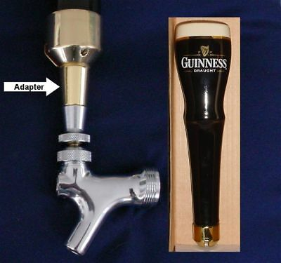 new GUINNESS TOUCAN draft beer TAP HANDLE marker Limited Edition bottle TAPPER