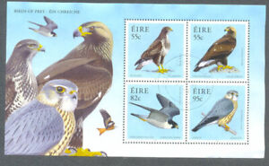 Irlande-birds Of Prey-eagle-buzzard-peregrine - Merlin Fine Used Min Feuille 2010-zard-peregrine-merlin Fine Used Min Sheet 2010fr-fr Afficher Le Titre D'origine