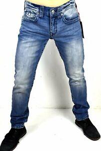 True-Religion-Men-039-s-Rocco-Light-Dust-Relaxed-Skinny-Jeans-101482