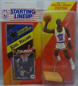 1992  KARL MALONE - Starting Lineup - SLU - Sports Figurine - UTAH JAZZ