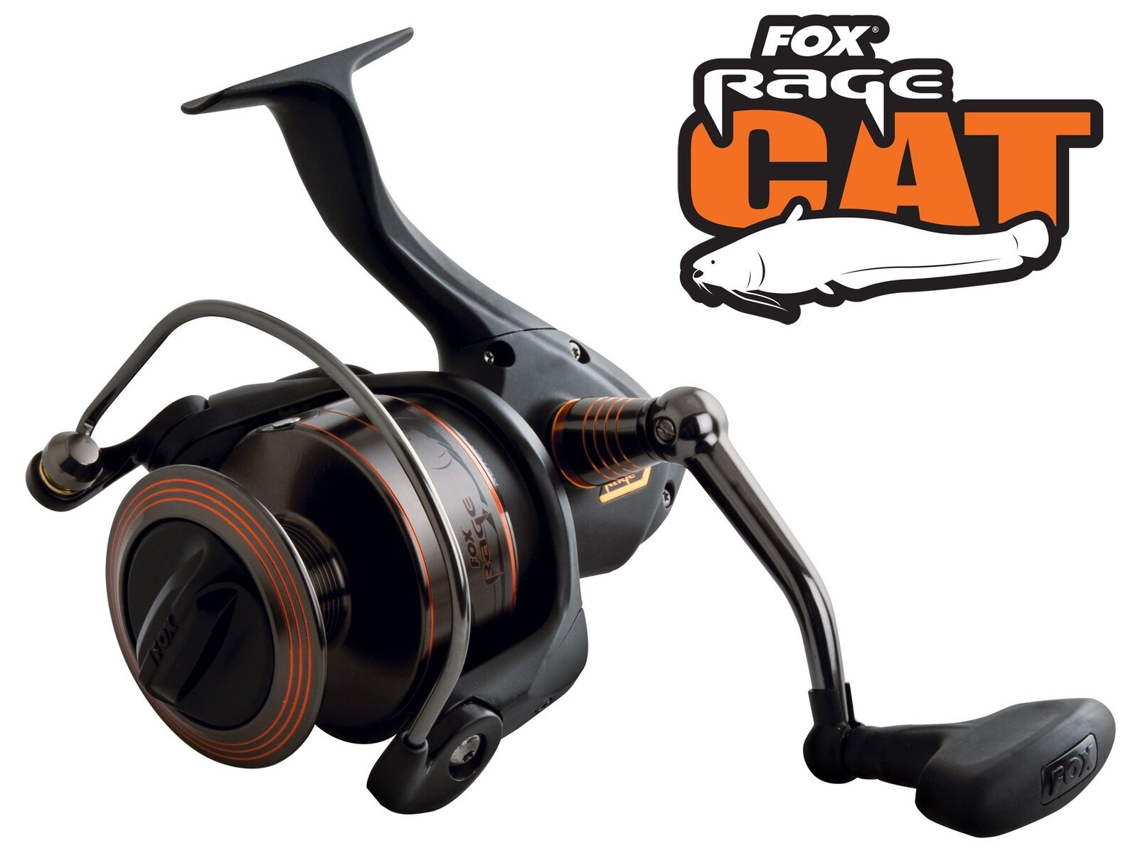 Fox Rage Cat Rolle CR800 Reel - Wallerrolle, Stationärrolle zum Welsangeln