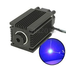 1600mW 445nm 12V Blue Laser Module w/ Heatsink For CNC Laser Cutter Engraver