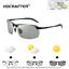 Men's Photochromic Polarized Sunglasses UV400 Transition Lens Driving Glasses