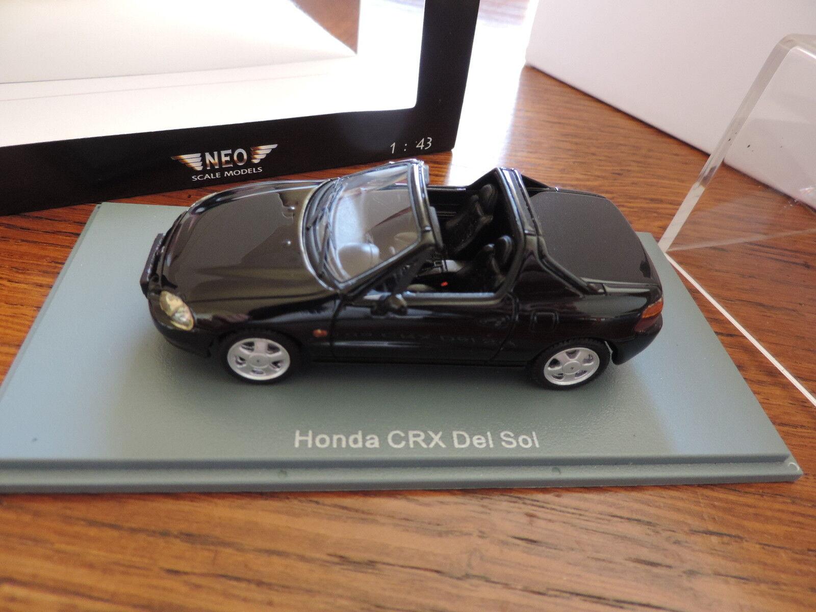 Joyeux Noël, bon shopping Honda CRX Del Sol 1992 NEO 1/43 edition limitée | Bien Connu Pour Sa Fine Qualité