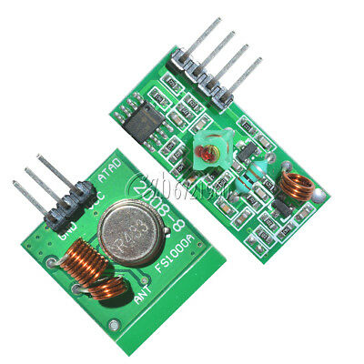 10Pcs 433Mhz RF transmitter and receiver link kit for Arduino/ARM/MCU WL
