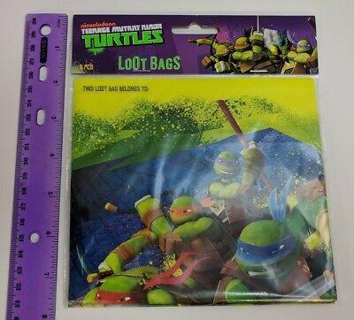 Teenage Mutant Ninja Turtles Goodie Bags 8ct