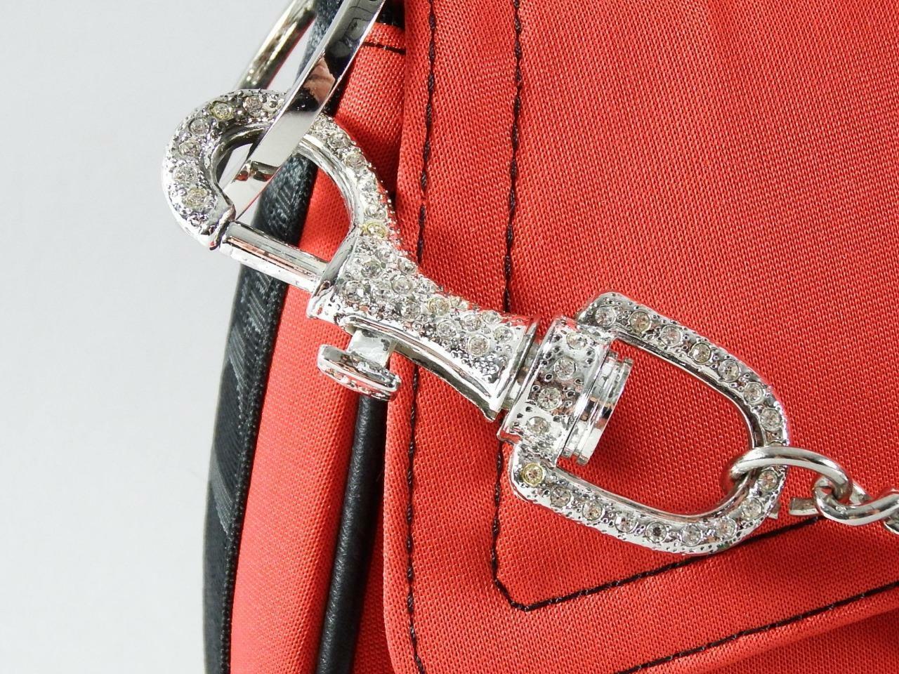 Christian Dior Red Jersey Hardcore Shoulder Bag w… - image 3