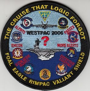 CARRIER-AIR-WING-2-THE-CRUISE-THAT-LOGIC-FORGOT-WESTPAC-2006-CRUISE-PATCH